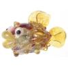 Lamp Bead Puffy Fish 1Pc 28x16mm Sunshine Swimmer